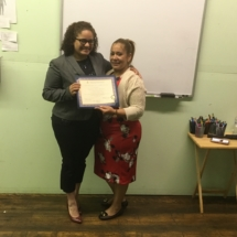 September 2018 IHTC HHA Graduate, Magdalena M.