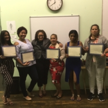 Congratulations to our September 2018 IHTC HHA New Bedford, MA graduates! From left to right: Antona F, Jeaneth A, Magdalena M, Onercy G (Instructor), Nadiusa S, Winifer A.